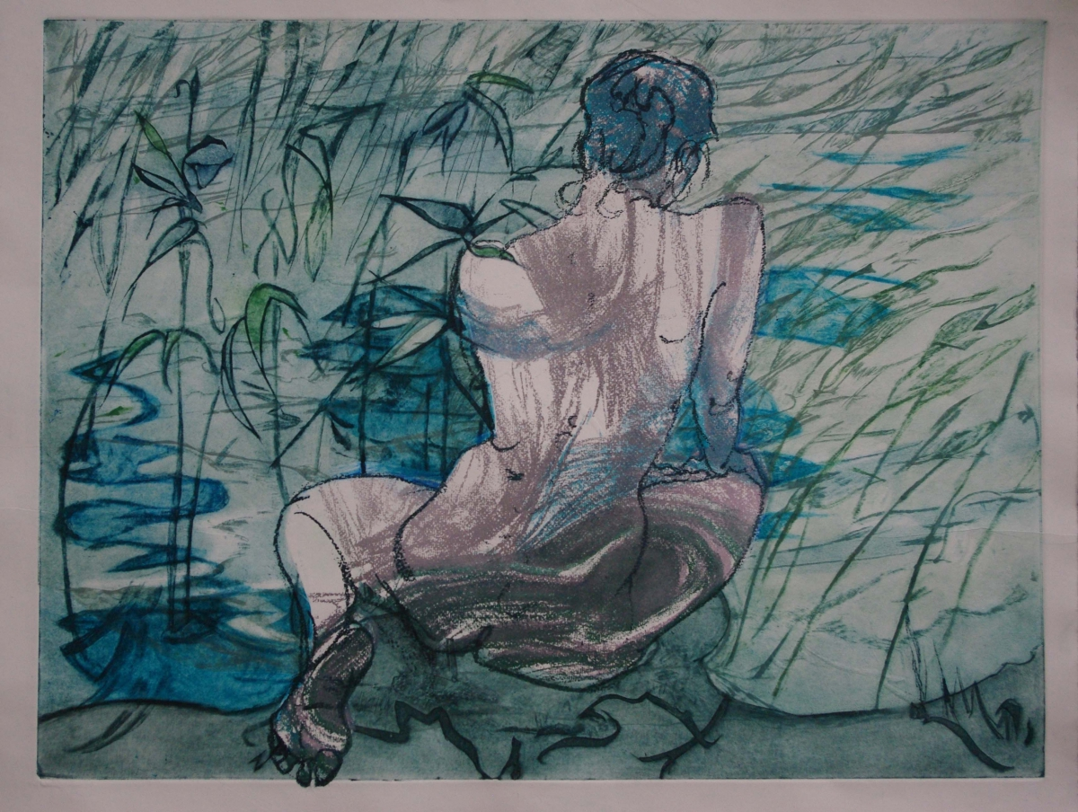 Figure in the Reeds 2