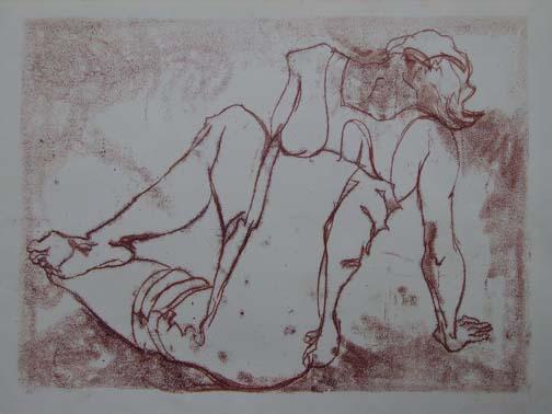 Kathy (dancer resting)