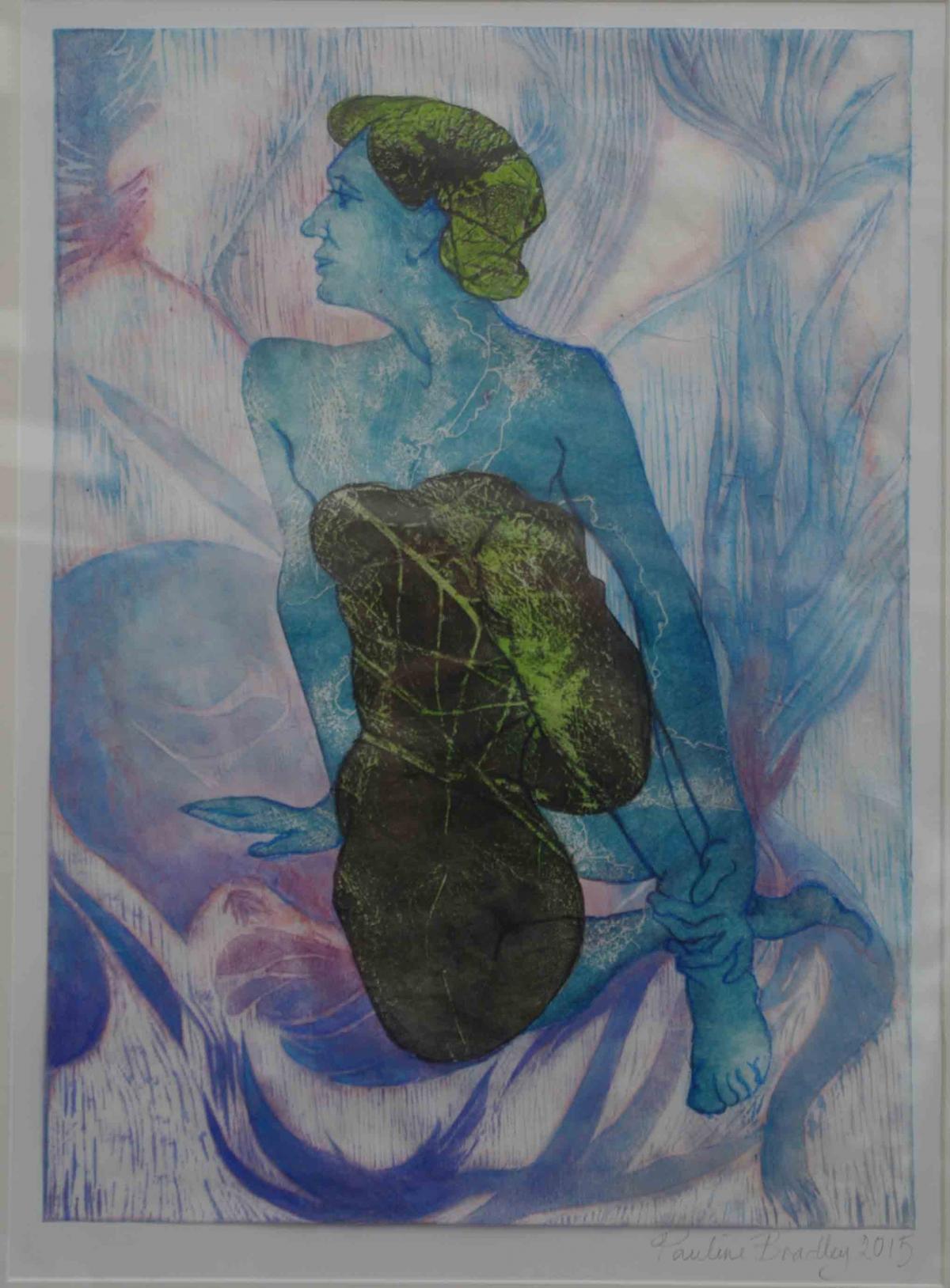 Blue Lady - Variation 8