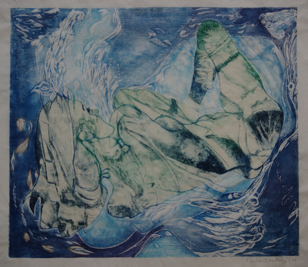 Reclining Nude - Submerged